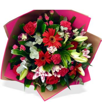 Gold Coast flowers  -  Vanessa Elite Bouquet Flower Delivery