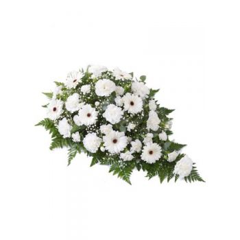 Valladolid online Florist - Casket Spray Bouquet