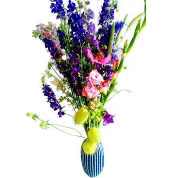 Khenchela flowers  -  Bluebird Flower Delivery