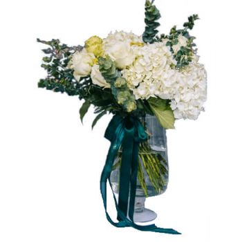 Algiers online Florist - Cloud of Emeralds Bouquet