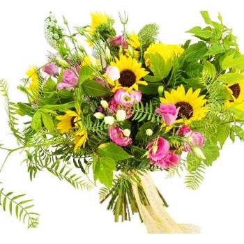 Khenchela flowers  -  Summer vibe Flower Delivery