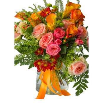 Algiers online Florist - An air of klimt Bouquet