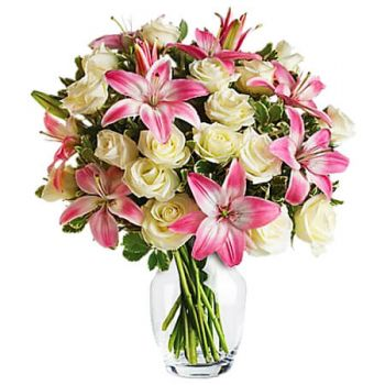 Paradise flowers  -  ALWAYS A LADY Flower Delivery