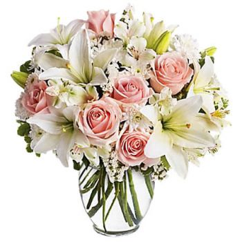 Bath flowers  -  ARRIVE IN STYLE Flower Delivery