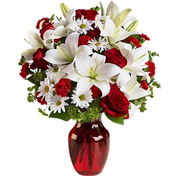 fleuriste fleurs de Linstead- BE MY LOVE Bouquet/Arrangement floral