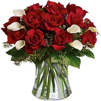 Lluidas Vale flowers  -  BE STILL MY HEART Flower Delivery