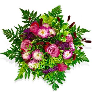 Denmark flowers  -  All Purple  Flower Delivery