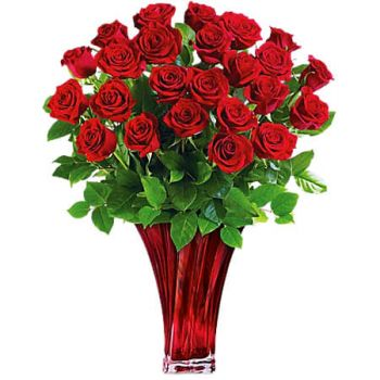 Spanish Town flowers  -  CLASSIC ROMANCE Flower Delivery