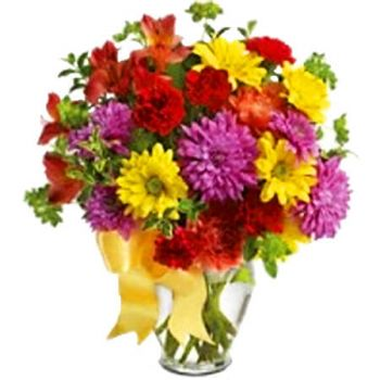 Trinidad online Florist - COLOUR ME YOURS Bouquet