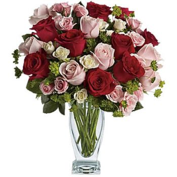 Spanish Town flowers  -  CUPID CREATIONS Flower Delivery
