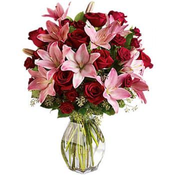 Spanish Town flowers  -  LAVISH LOVE  Flower Delivery