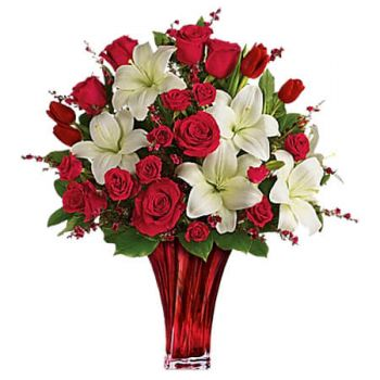 fleuriste fleurs de Portmore- LOVE PASSION Bouquet/Arrangement floral