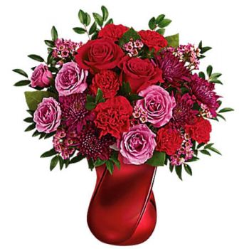 Mandeville Fleuriste en ligne - MAD CRUSH Bouquet