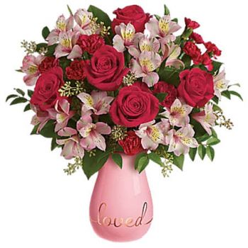 Spanish Town flowers  -  TRUE LOVELIES Flower Delivery