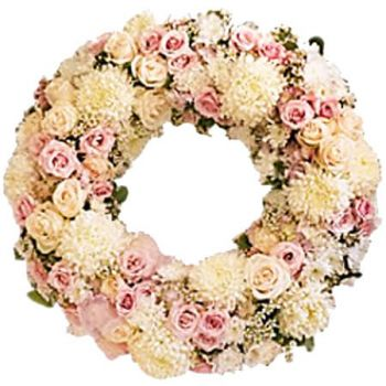 Jamaica flowers  -  PEACE ETERNAL WREATH Flower Delivery