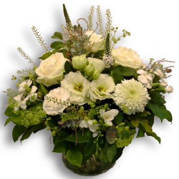 Bern flowers  -  A dream in white Flower Bouquet/Arrangement