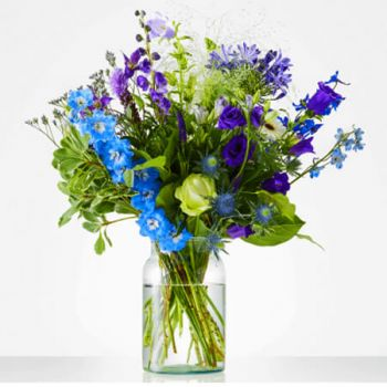 Holland Blumen Florist- Bouquet Beautiful Purple Blumen Lieferung