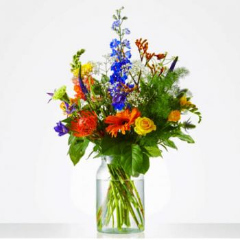 La haya Floristeria online - Bouquet Tough Surprise Ramo de flores