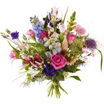 Amsterdam online Florist - Bouquet much Love Bouquet
