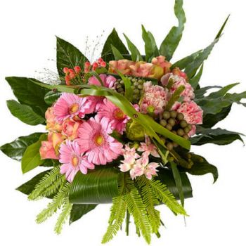 The Hague online Florist - Classic pink Bouquet