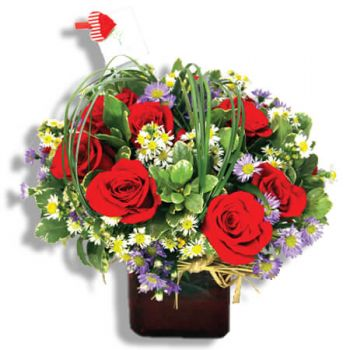 San Juan online Florist - Perfect flower culture Bouquet