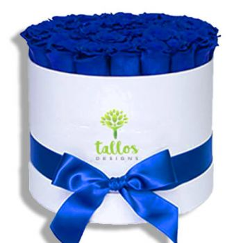Trujillo Alto online Florist - Blue snow Bouquet