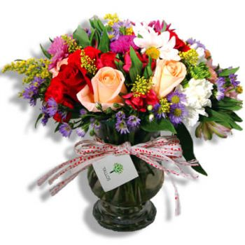 San Juan flowers  -  Kiss from spring Flower Bouquet/Arrangement