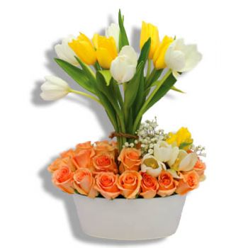 San Juan online Florist - Intense Happiness Bouquet
