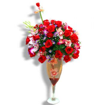 Carolina online Florist - Cheers for roses Bouquet