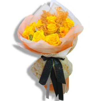 Juncos flowers  -  Sunny day bouquet Flower Delivery