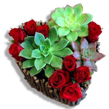 Caguas online Florist - The beauty and the beast Bouquet