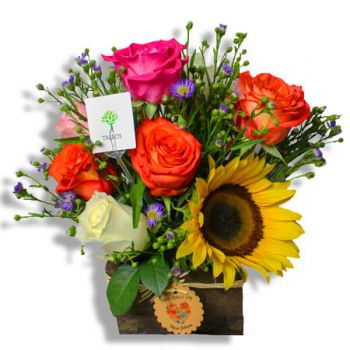 Puerto Rico flowers  -  Tropical Island Flower Delivery