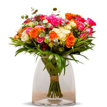 Adra flowers  -  New York Roses Flower Bouquet/Arrangement