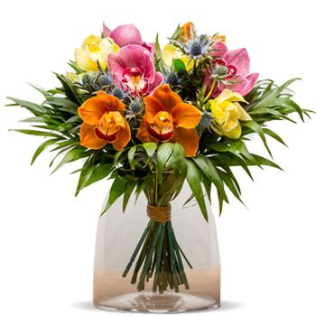 Aldaia flowers  -  Tahiti Flower Bouquet/Arrangement