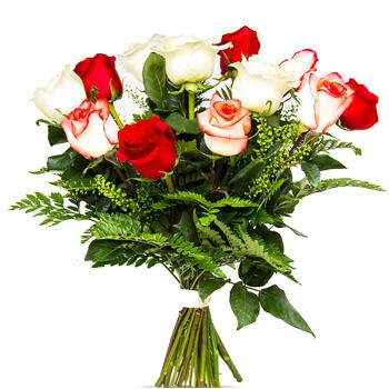 Alboraia flowers  -  Tunesia Flower Delivery