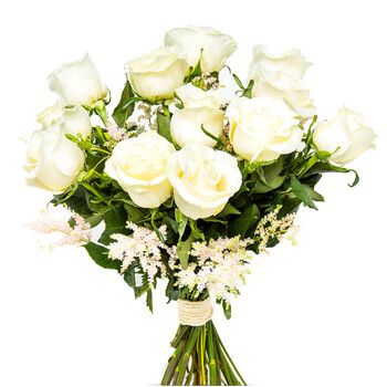 Santa Clara Golf flowers  -  Florence Rose Bouquet Flower Delivery