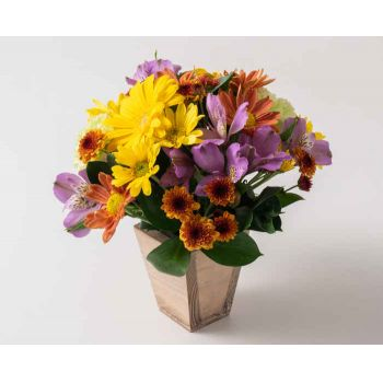 Sao Paulo flowers  -  Small Field Flowers Arrangement Delivery