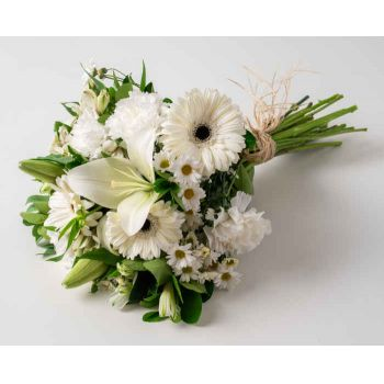 Sao Paulo flowers  -  White Field Flowers Bouquet Flower Bouquet/Arrangement