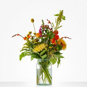 Oudewater flowers  -  Bouquet Autumn tone Flower Delivery