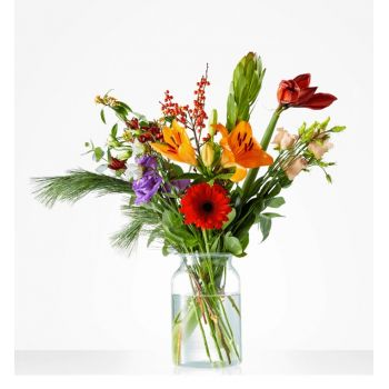Korvel flowers  -  Bouquet of Winter Fun Flower Delivery