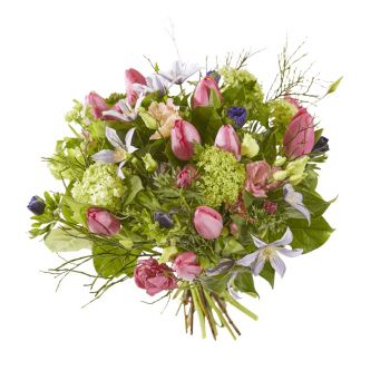 Spijkenisse flowers  -  Bouquet Vivid Spring Flower Delivery