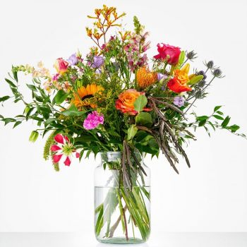 Spijkenisse flowers  -  Bouquet picking happiness Flower Delivery