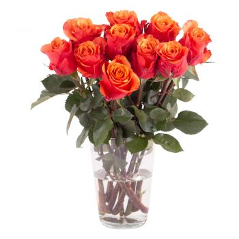 Hamburg online Florist - Sunset beauty Bouquet
