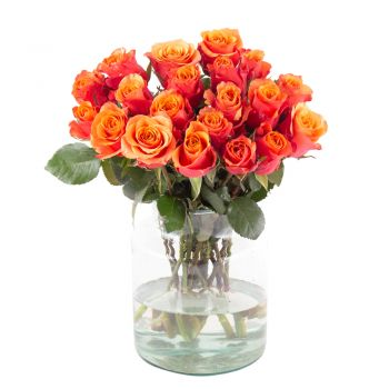 Hamburg online Florist - Light the fire Bouquet