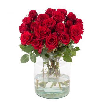 Düsseldorf online Florist - Red passion Bouquet