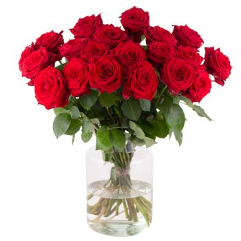 Essen online Florist - Red Phoenix II Bouquet