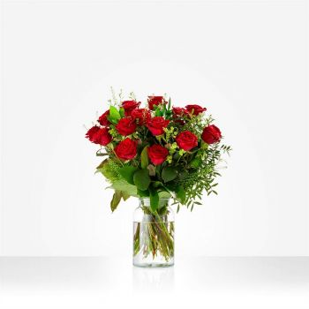 Abbega flowers  -  bouquet happy with you Flower Delivery