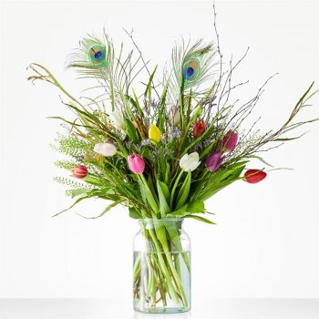 Almere Stad online Florist - Bouquet color sensation Bouquet