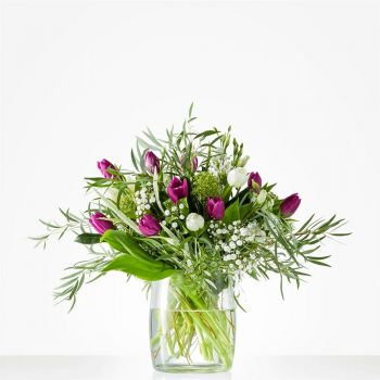 Almere Stad online Florist - Bouquet of winter tulips Bouquet