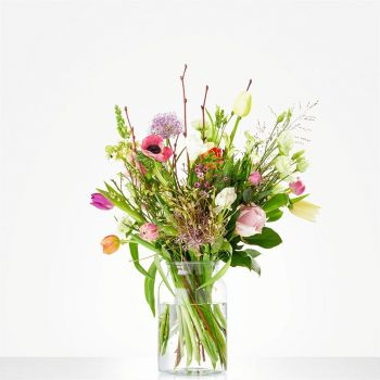 The Hague online Florist - Bouquet Soft Tulip Bouquet